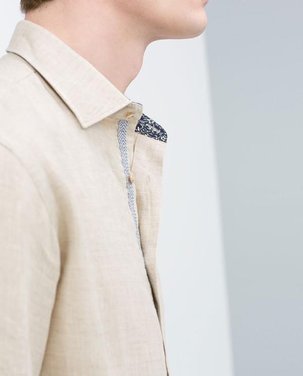 Cream Color Funky Dress Shirt