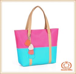 Sale women bags pu woven bags ladies tote bag,lady bag