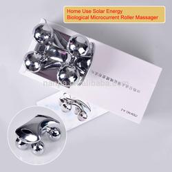 Solar Energy Microcurrent Roller Mini 4D Shape Home Use Massager