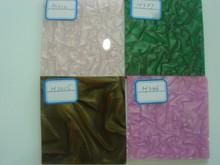 decorative wavy plastic sheets