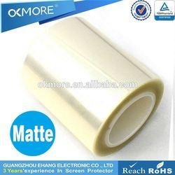 Made in china high clear anti-scratch 4H desktop matte screen protector material
