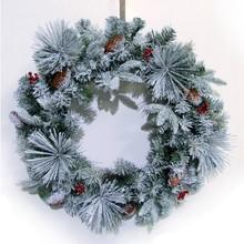 26inch Flocked Christmas wreath