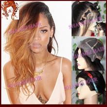 2015 New Design Thin Skin Silky Straight Virgin Chinese Hair High Quality Halloween Wig