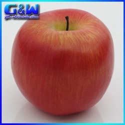 Factory Direct Wholesale Cheap Fake Decorative Artificial Apple Red for Festival Wedding Party Decorative