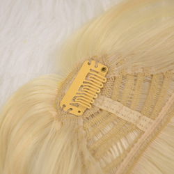 wholesale synthetic hair piece hair bang with 3 clips