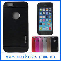 """Factory price mobile phone motomo case for iphone 6 and plus 5.5"""" with apple logo hole"""