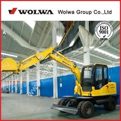 DLS865-9A, Hydraulic Wheel Excavator ,6 ton Wheel Excavator ,mini Wheel Excavator