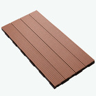 hot sell! 600x300mm 300x300mm WPC wood plastic composite decking/flooring decking tiles wpc DIY tiles