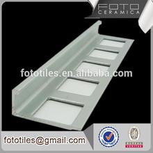 De aluminio del metal azulejo del ajuste esquinas para cerámica azulejos de borde