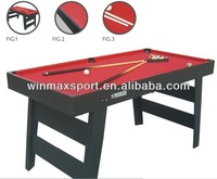 2015 Hot sale high quality 6FT MDF foostable/pool table,family pools table