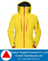 Fashion Ski Jacket Yellow Women Ski Jacket Lightweight Ski Jacket For Women