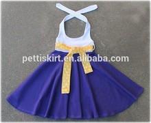 Beautiful new design children dresses fashion child party dresses