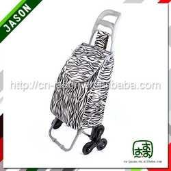 metal shopping trolley golf club travel bag