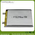 2500 mah li- polímero de la batería 854759p 48 voltios de la batería de litio paquete