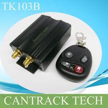 Auto-Track gps tracker software with SD card slot remote controller SOS alarm cutoff fuel function TK103B