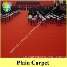 High quality nonwoven fiber needle punch technic exhibition carpet felt for wedding