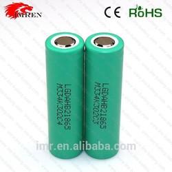 Whlolesale 18650 battery LG ICR18650HB2 3.7v 1500mAh high drain lg 18650 1500mah battery