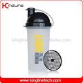 Utilisés quotidiennement 700ml logo personnalisé en plastique bouteille shaker avec filtre. fabricant. odmprix( kl- 7013f)