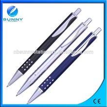 high quality slim aluminum ball pen ,metal refill pen