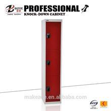 code lock indian bedroom 3 door steel wardrobe cabinet