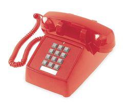 Standard Desk Phone, Red - Xi'an Yamatake