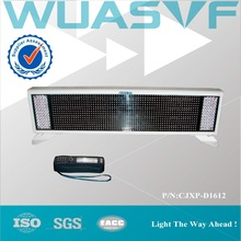Two face LED singal screen Emergency vehicle display screen for sale