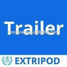 OEM enclosed snowmobile trailers custom angle load Horse float