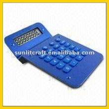 mini calculator/ promotional calculator with durable rubber keys, ideal for gifts