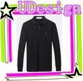 Confortável e barato homem polo t- shirt barato personalizado macio novo design camisa pólo manga longa