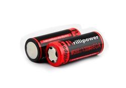 Brillipower high capacity 26650 3500mah li-ion rechargeable batteries