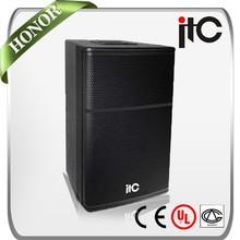 """ITC TS-815 500W 8 ohm 15"""" Bass 2.0 Top Pro Karaoke Speaker with Neodymium Driver"""