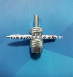Large bore valve repair tool