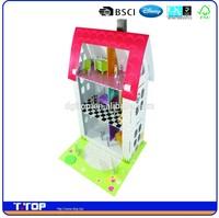 Kraft paper toy house