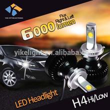 12v 28W / 42W led h4 motorcycle headlight Auto Headlight with h4 bulb holder