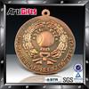 Factory direct sale metal custom soft enamel tree leaves copper plated blank metal medal
