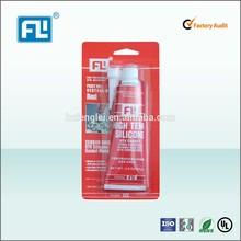 high temperature resisitance silicone sealant Red FL588