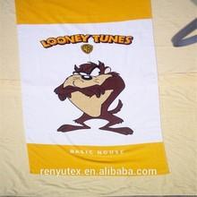 Digital printing microfiber beach towel for wholesale