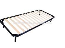 popular single size metal slat adjustable bed base