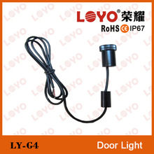 Car Welcome Light Laser Logo Lamp 4th Generation Shadow Wireless Door Projector