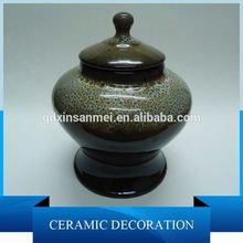 ceramic vase painted by famous painter