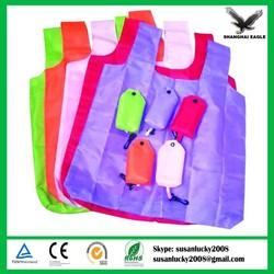 2015 New Design Folded Polyester Shopping Bag
