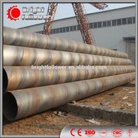 API 5L GRB X42 X52 X60 spiral pipe