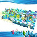 انتجت الصين hsz-tba152 جديدة من البلاستيك اللين الملعب المياه سرير للأطفال
