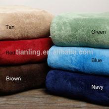 Micro Mink Plush Blanket For Sale