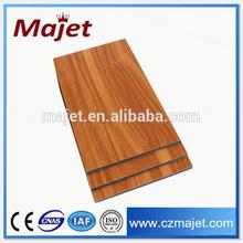 Alibaba Trade Assurance wood texture aluminum composite panel building construction material