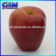 High Quality 8cm Aggravating Decorative Artificial Fruit Fake Apple for Christmas Decorative
