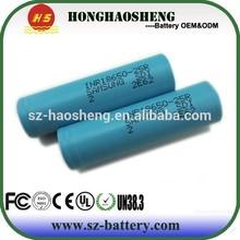 Authentic Samsung 3.7v 2500mAh 18650 INR18650-25R li-ion lithium battery