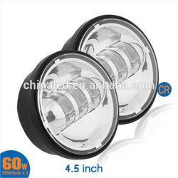 4.5'' 1260LM 30W LED Fog Light/Driving Light/DRL/LED Front Light 4.5 inch Fog Light for Harley for Motorcycle