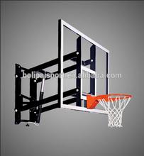 High quality wall mounted basketball goal/hanging basketball goal