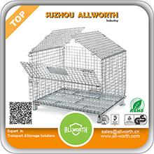 folding metal storage cage